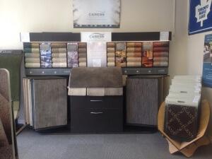 Carpet selection display