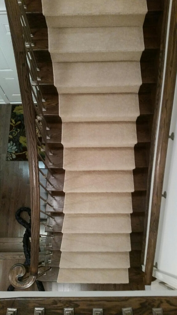 Carpeted Staircase in Markham